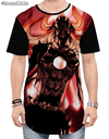 Camisa Swag Ichigo Forma Hollow Bleach