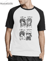 Camisa Raglan A3 Naruto - I Hate You I Love You