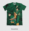 Camisa Exclusiva Rock Lee e Gai Mangá