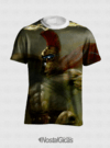 CAMISA FULL ESTAMPA PANTHEON LEAGUE OF LEGENDS