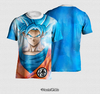 Camisa Goku Super Saiyajin Blue Estampa Total