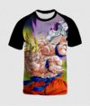 Camisa Estampa Total Goku vs Freeza