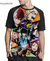 Camisa Raglan Boku no Hero Academia Estampa Total Frente