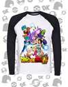CAMISA MANGA LONGA TORNEIO DO PODER DRAGON BALL SUPER