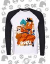 CAMISA MANGA LONGA GOKU Dragon Ball Super