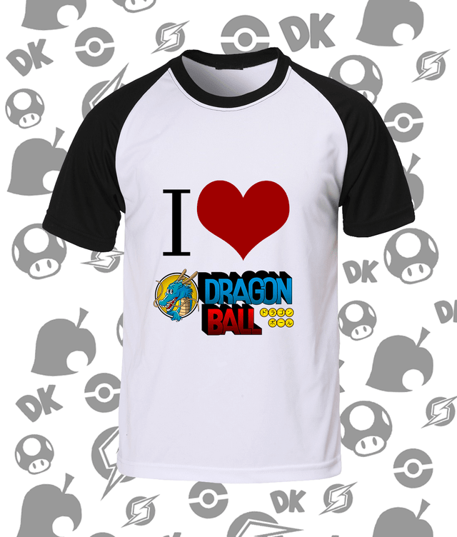 Camisa I Love Dragon Ball