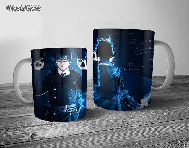 CANECA AO NO EXORCIST COSPLAY