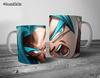 CANECA GOKU SSJ BLUE GAME