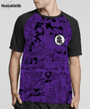 Camisa Exclusiva Raglan Mangá Dragon Ball Super Roxo