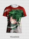 CAMISA ESTAMPA TOTAL BOKU NO HERO MIDORIYA MOD.2