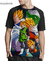 Camisa Raglan Dragon Ball Z Estampa Total Frente MOD.05