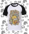 Camisa Os Simpsons Todos os Personagens