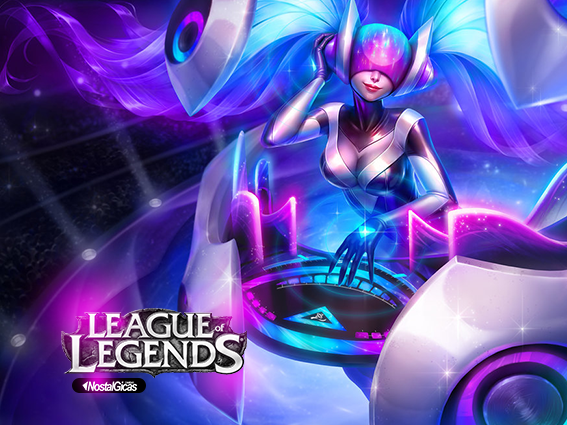 MOUSE PAD DJ SONA LEAGUE OF LEGENDS MOD.1 - comprar online