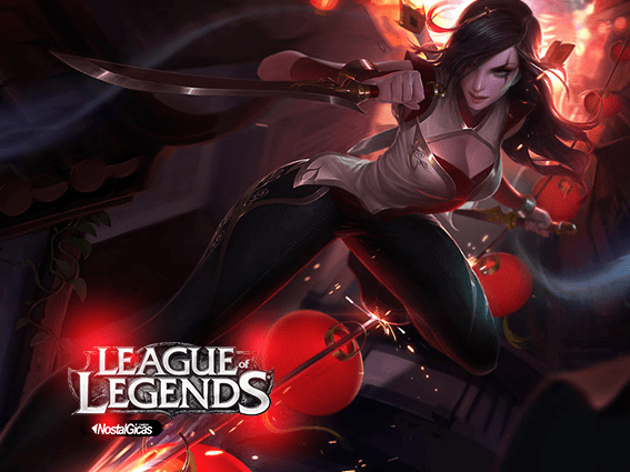 MOUSE PAD Katarina Reinos Combatentes LEAGUE OF LEGENDS - comprar online