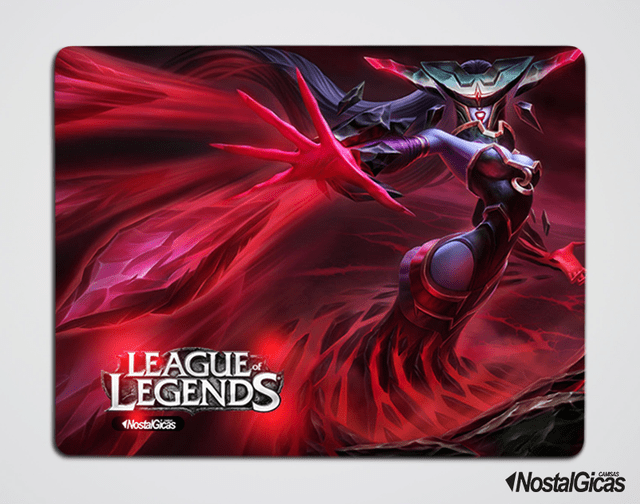 MOUSE PAD LISSANDRA HEMATITA LEAGUE OF LEGENDS