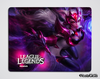 MOUSE PAD AHRI DESAFIANTE LEAGUE OF LEGENDS