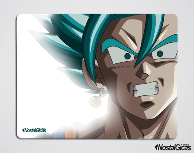 MOUSE PAD VEGETTO SSJ BLUE