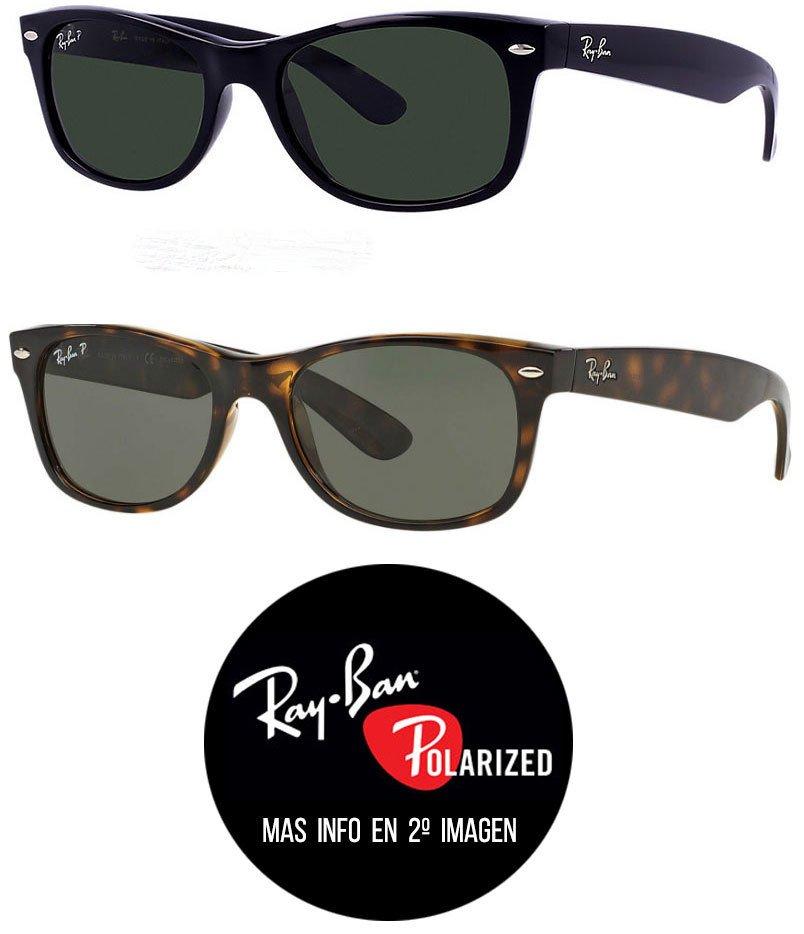 38d39be532 Ray Ban RB2132 New Wayfarer Polarizados - Tienda Icons