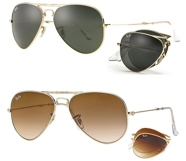 Ray Ban RB3479 Aviator Folding