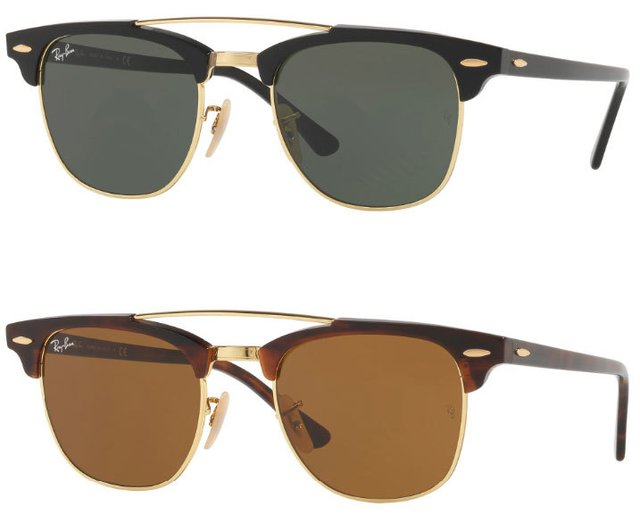 Ray Ban RB3816 ClubMaster Double Bridge