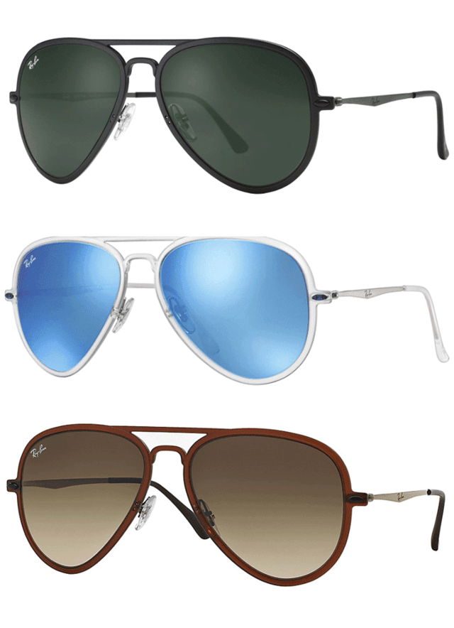 Ray Ban RB4211 Aviator Light Ray