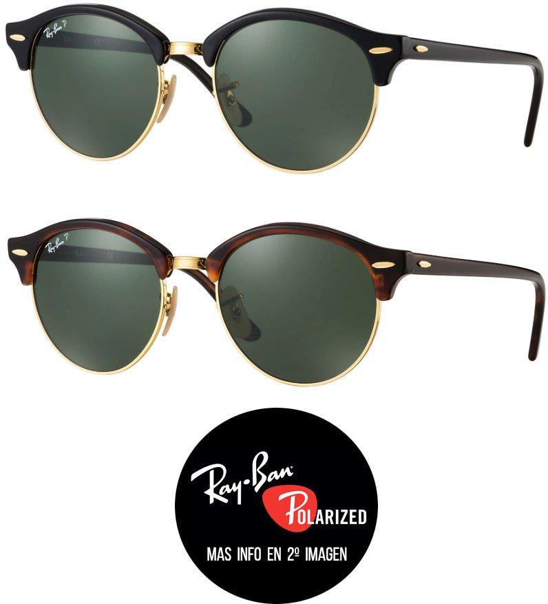 20c391069f Ray Ban RB4246 ClubRound Polarizados - Tienda Icons