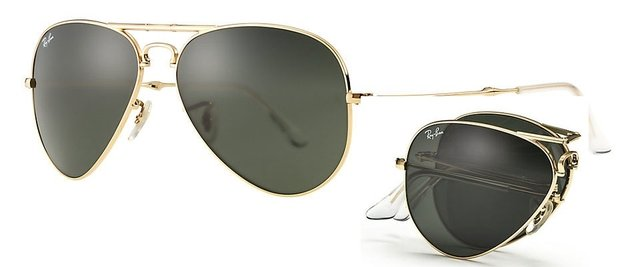 Ray Ban RB3479 Aviator Folding en internet