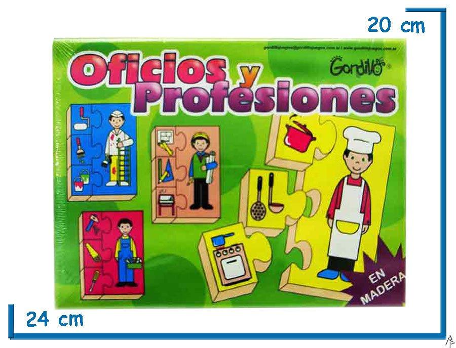Oficios De Kidz Y Juguetes Madera Profesiones wNn0kPZXO8