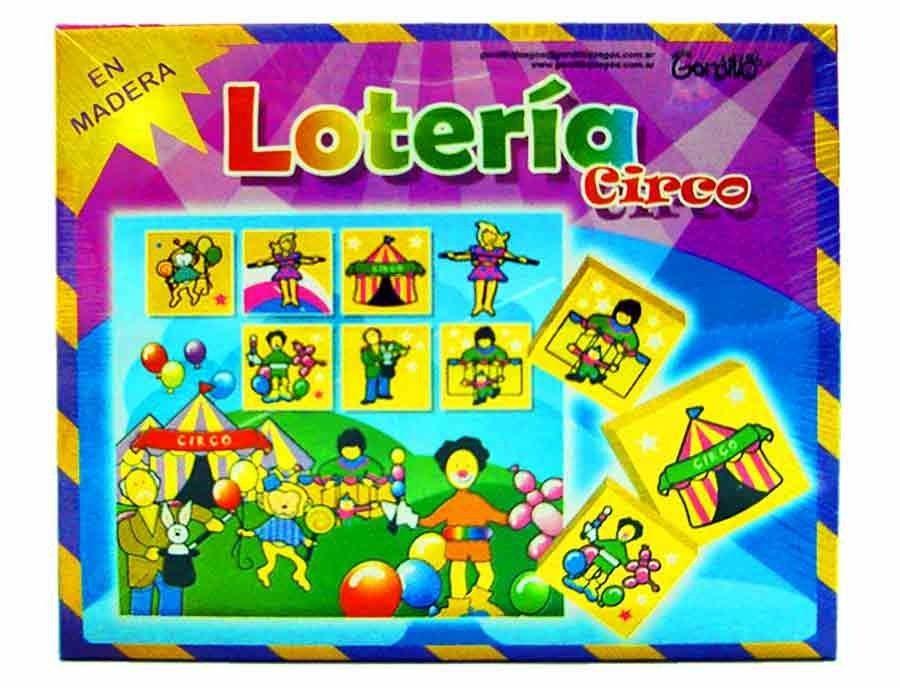 Madera En Loteria Circo De Kidz Juguetes Comprar Yy7gf6b