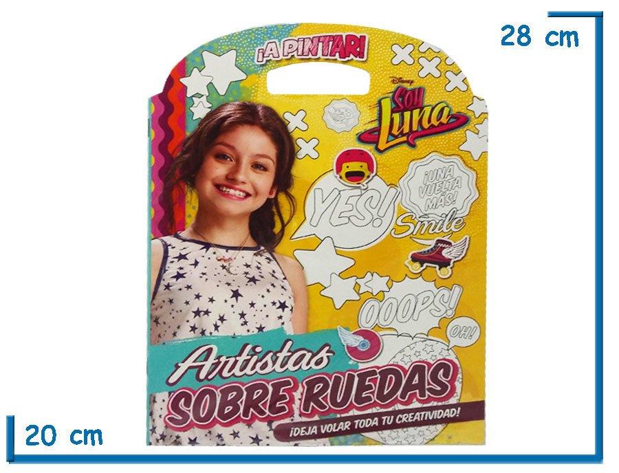 Libro Para Colorear Soy Luna Artistas Kidz Juguetes