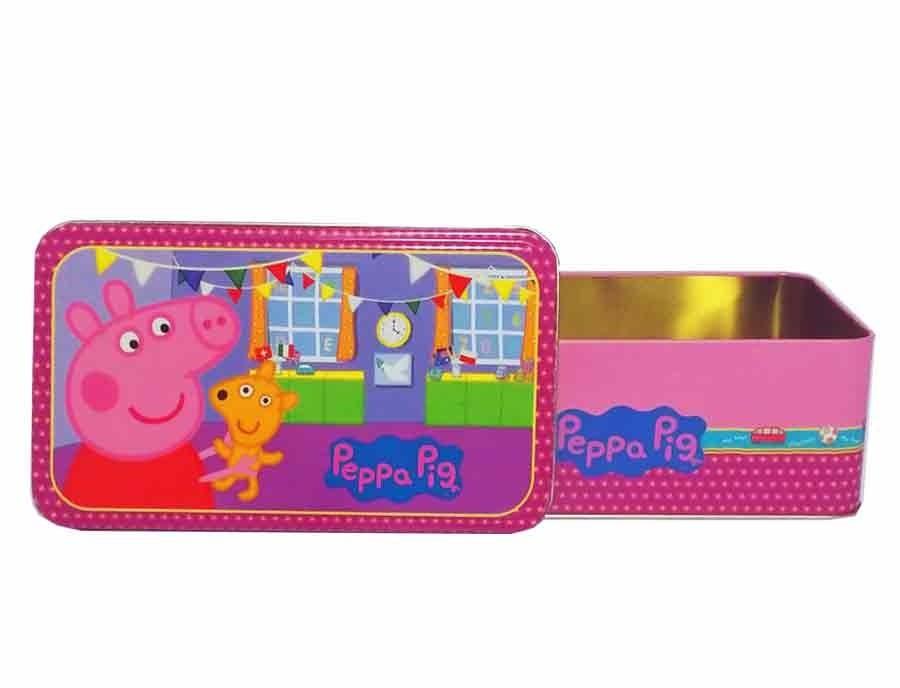 Pig Juguetes Lata Comprar Kidz En Peppa Rectangular Lj4R5A
