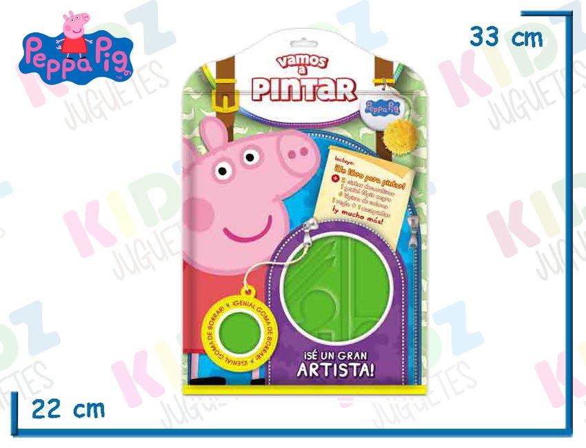Peppa Dibujo A De Pig Set Juguetes Kidz Vamos Pintar dCWxoBer
