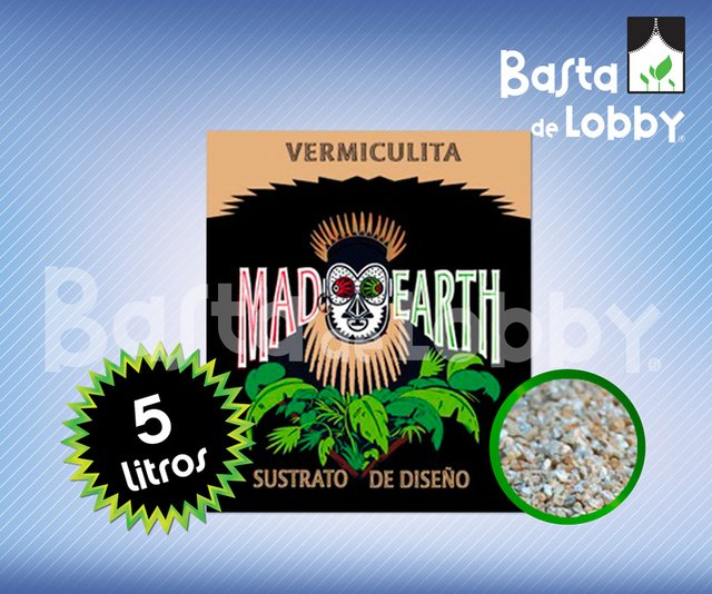 MAD EARTH VERMICULITA 5L. - comprar online