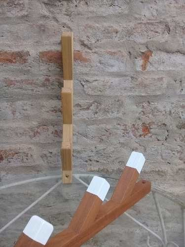 STOCK! Perchero De Pared De Madera Brote Tres Perchas * Ecodiseño en internet