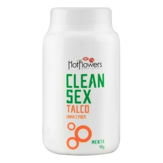 CLEAN SEX TALCO LINHA CYBER HOT FLOWERS