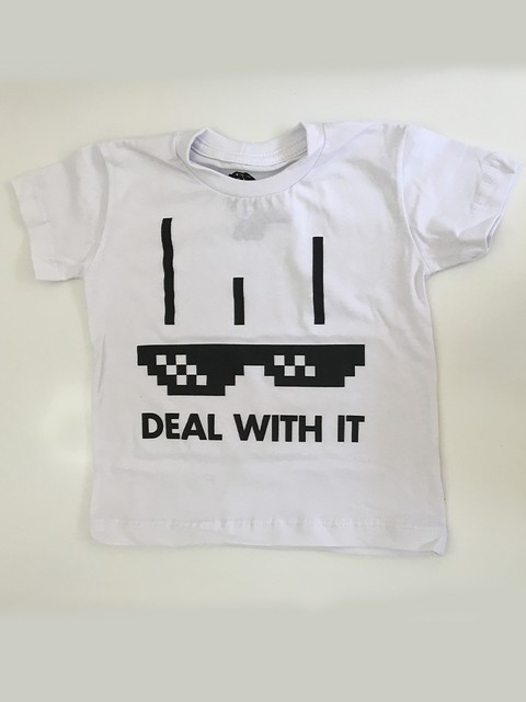 Camiseta Deal with it - comprar online