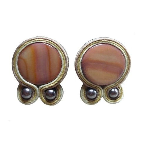 Aros Soutache color Terracota