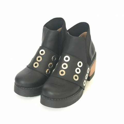 Bota Mix black