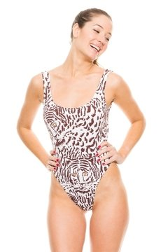 Entero sirenas animal print - comprar online