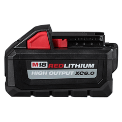 Bateria De Litio 18v 6,0 Ah Milwaukee M18 Red Lithium Hd12.0 - comprar online