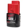 Bateria de Litio M12 Red Lithium 12V 2,0Ah Milwaukee