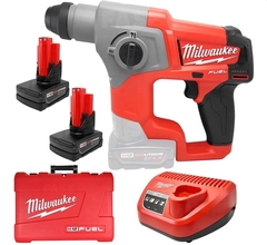 Martillo Rotomartillo A Bateria Milwaukee M12 Fuel 2416-259A
