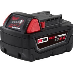 Bateria De Litio 18v 5,0 Ah Milwaukee M18 Red Lithium Xc 5.0 - comprar online