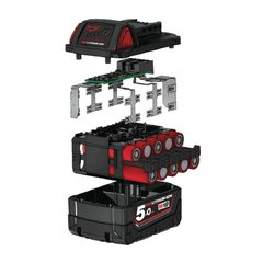 Bateria De Litio 18v 5,0 Ah Milwaukee M18 Red Lithium Xc 5.0 en internet
