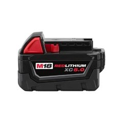 Bateria De Litio 18v 5,0 Ah Milwaukee M18 Red Lithium Xc 5.0