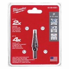 Mecha Escalonada Milwaukee De 4a12mm X 65mm 48-89-9301 - comprar online
