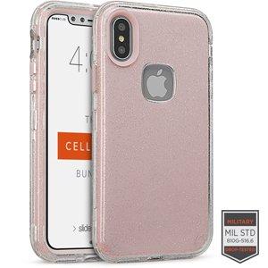 065fb460f6b CASE IPHONE X GLITTER ROSA
