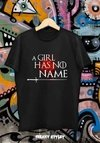 Remera Game Of Thrones A Girl Has No Name Arya Stark