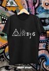 Remera Harry Potter Always (snape)