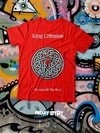 Remera King Crimson On And Off The Road